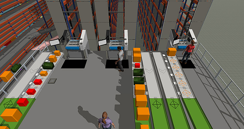 Warehousing Simulation