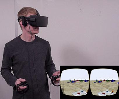 FlexSim 2017 Update 1 Oculus Touch
