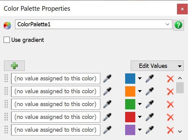 FlexSim 2019 Update 2: Color Palette