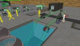Zombie Production Simulation Game