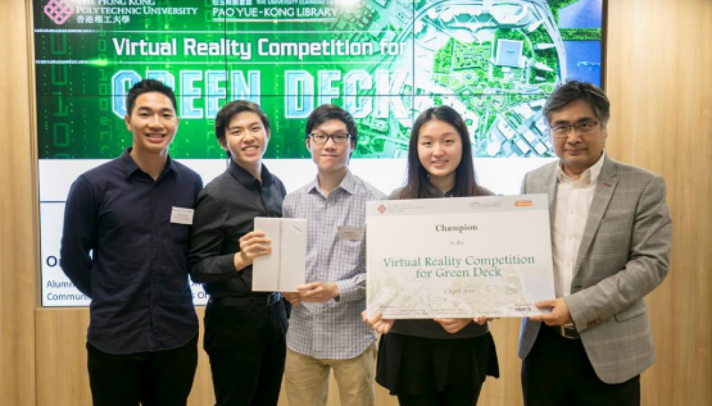 VR Competition Contestants