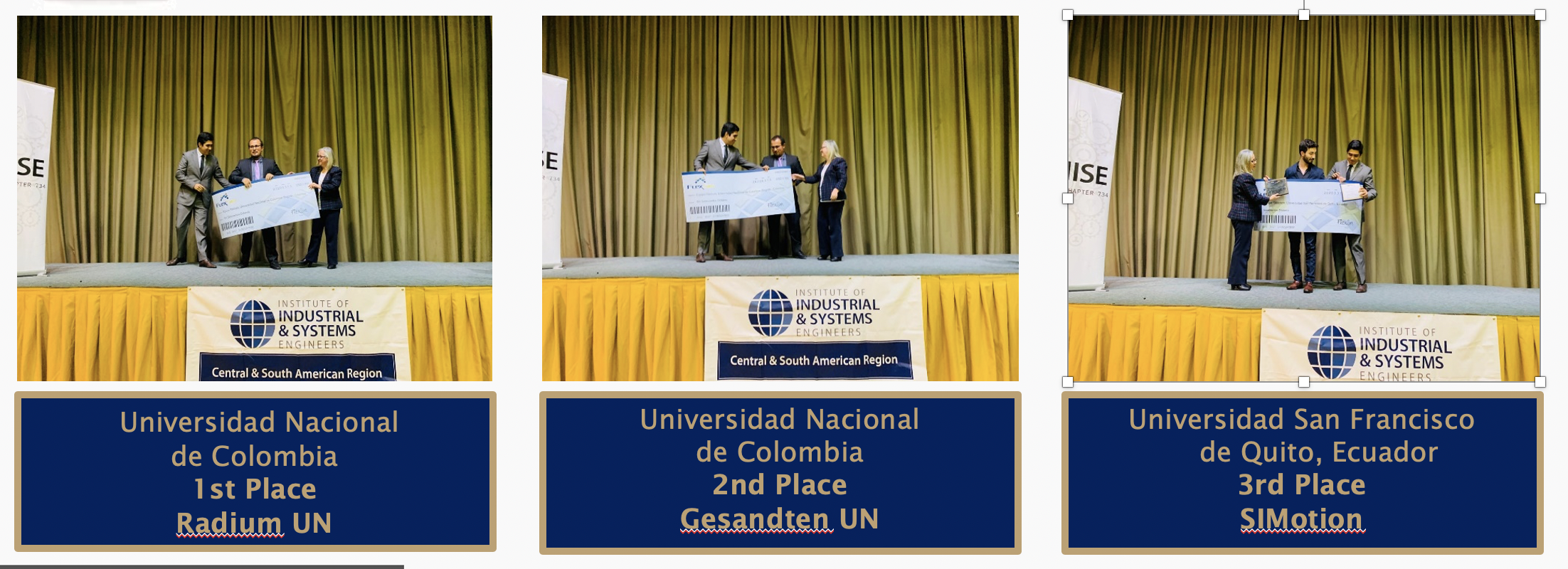 latin america simulation winners