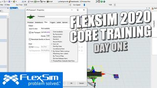 FlexSim 2020 Core Training: Day One