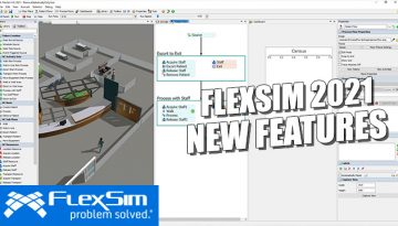 FlexSim 2021 Features