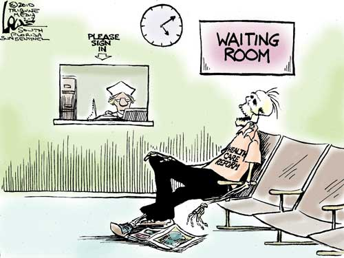 Ever waited *this* long for a doctor?