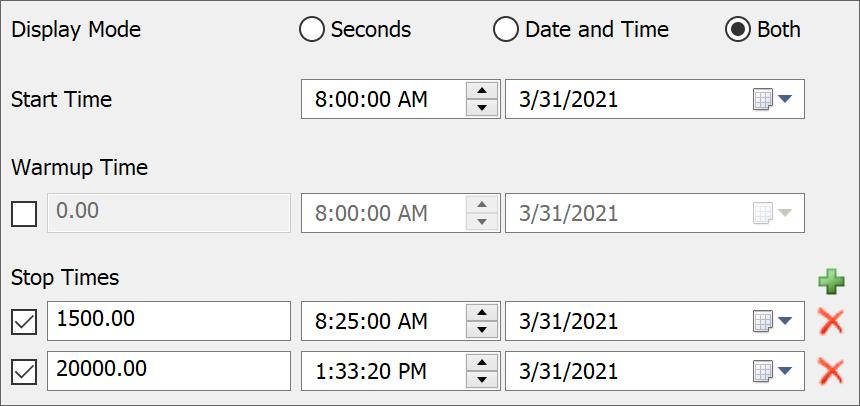 FlexSim Multiple Run Times