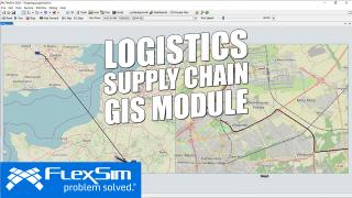 GIS Module for Supply Chain + Logistics