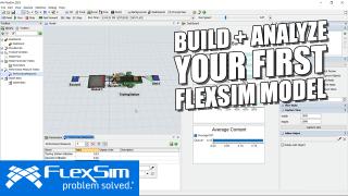이름 FlexSim 모델