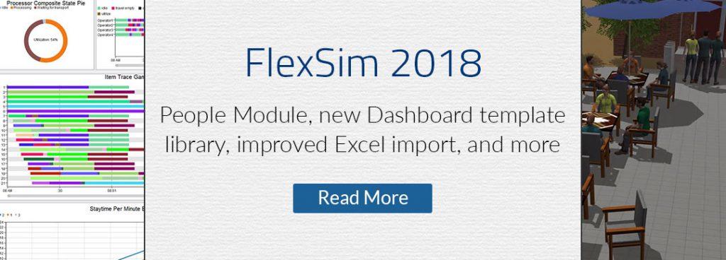 FlexSim 2018