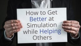 better simulation helping others