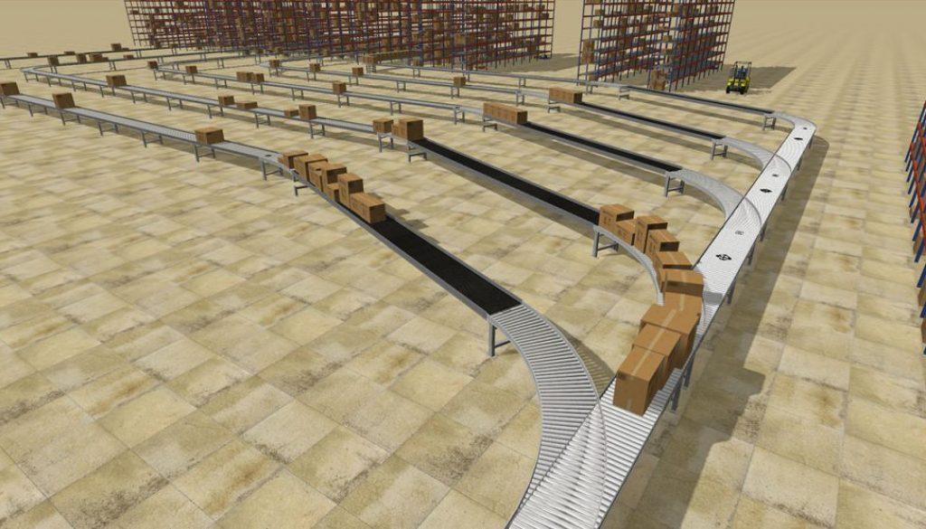 FlexSim Conveyor System