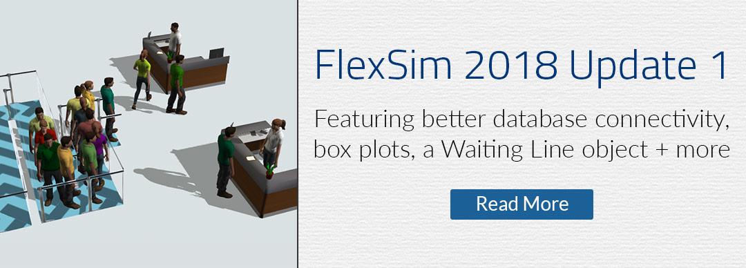 FlexSim 2018 Update 1