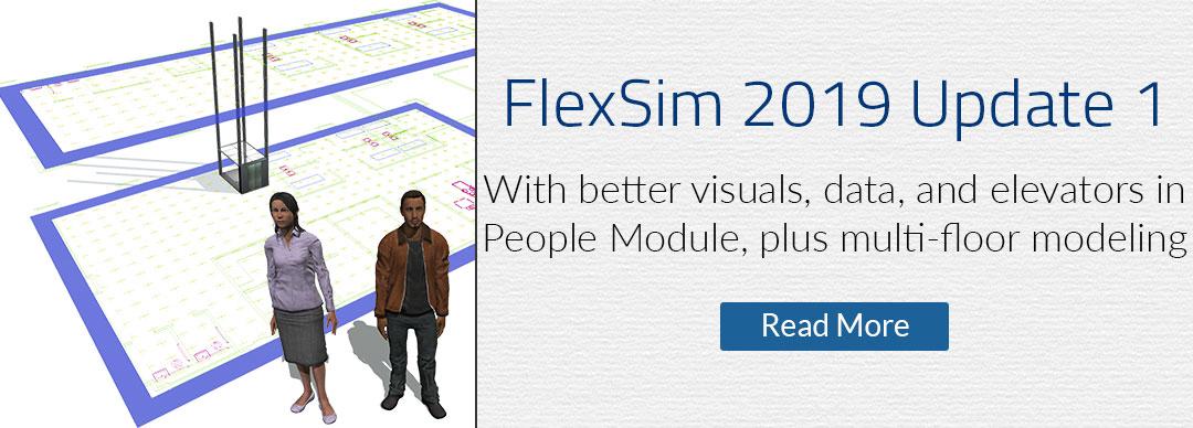 FlexSim 2019 Update 1