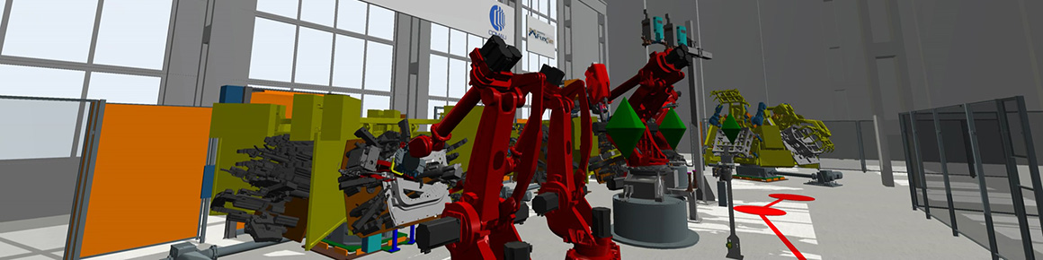 Manufacturing Simulation Robotics