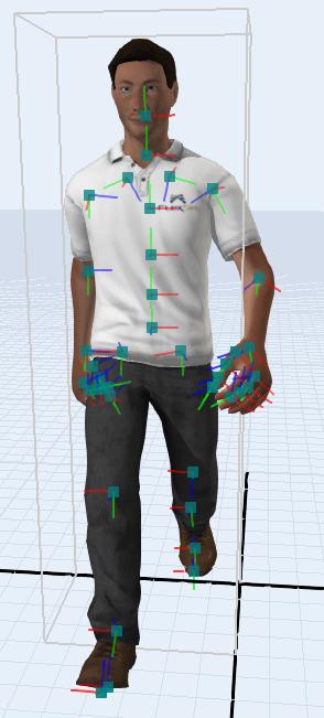 edit bones simulation