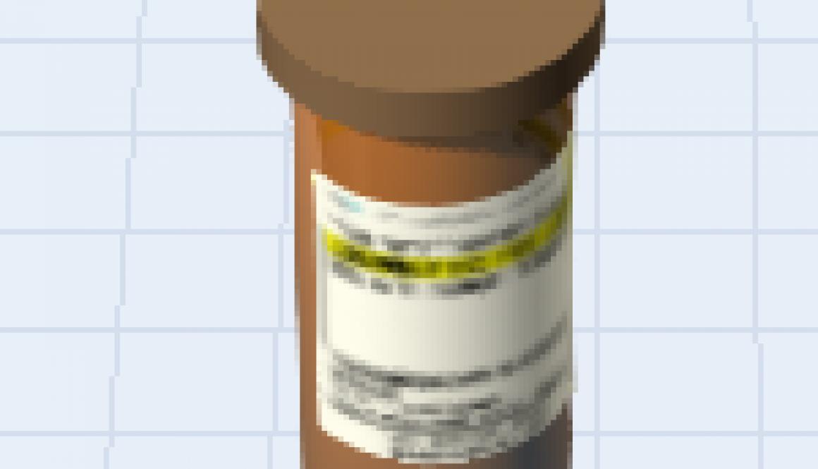 FlexSim Pill Bottle Shape
